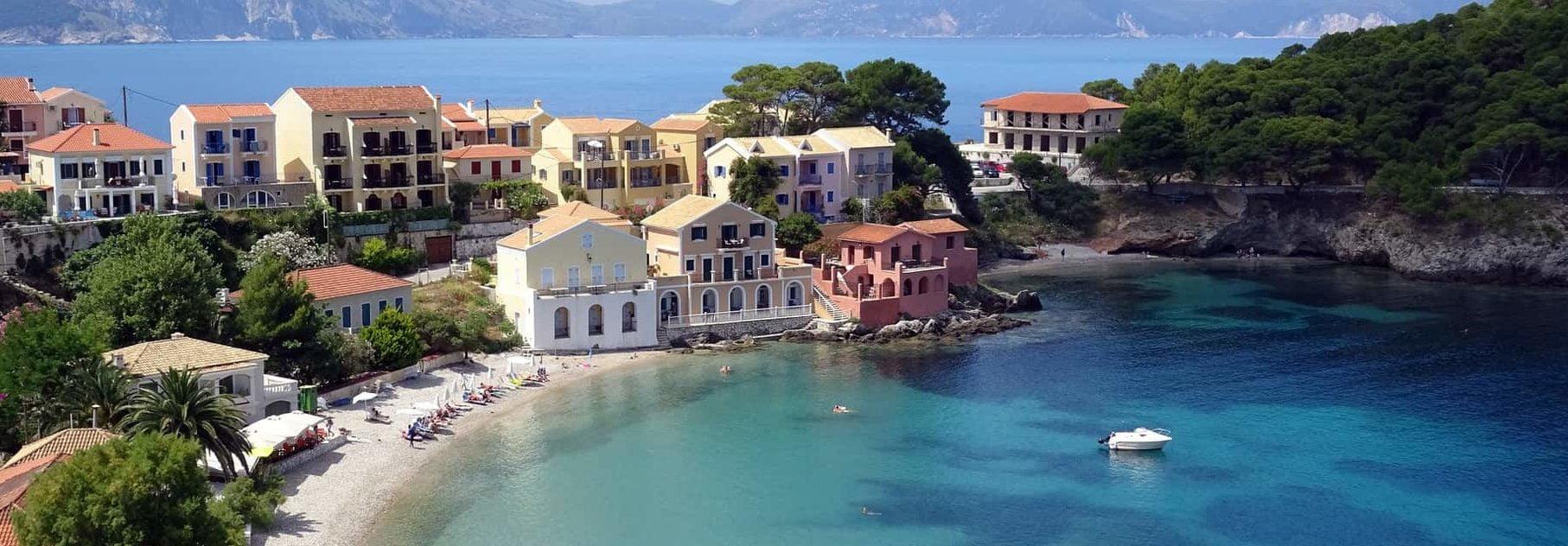 book en færge i Grækenland