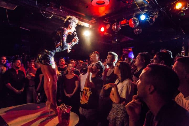 Interactive Manhattan New York Gay Bars Lesbian Clubs.
