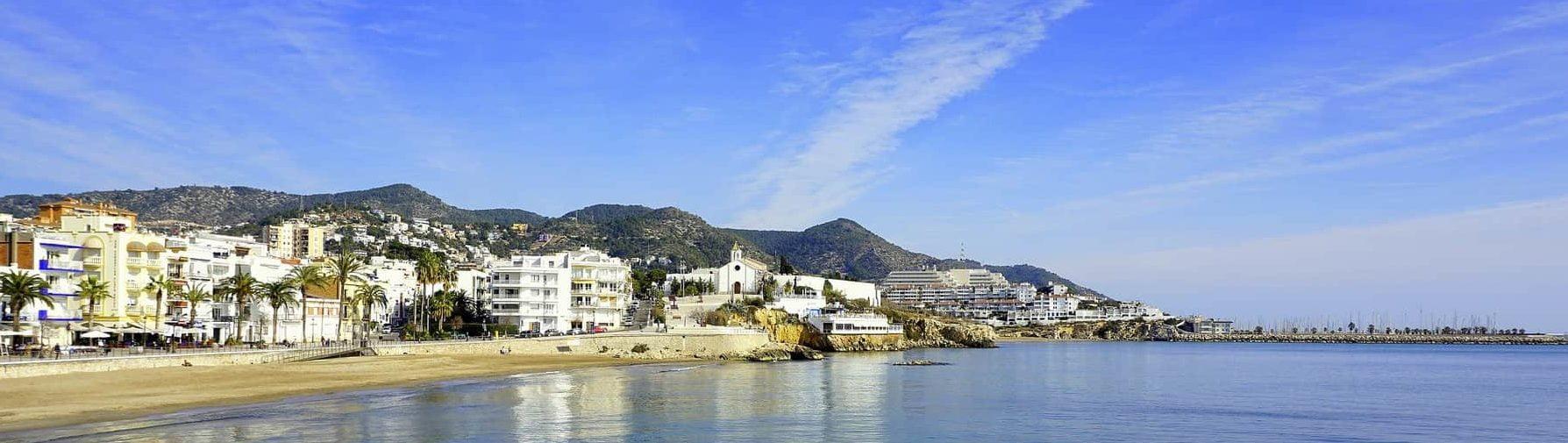 Platja de la Bassa Rodona - Plage gay principale de Sitges