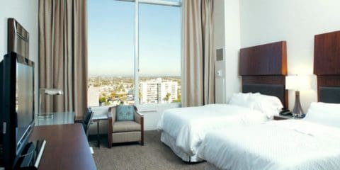 Le Westin Hotel Long Beach en Californie