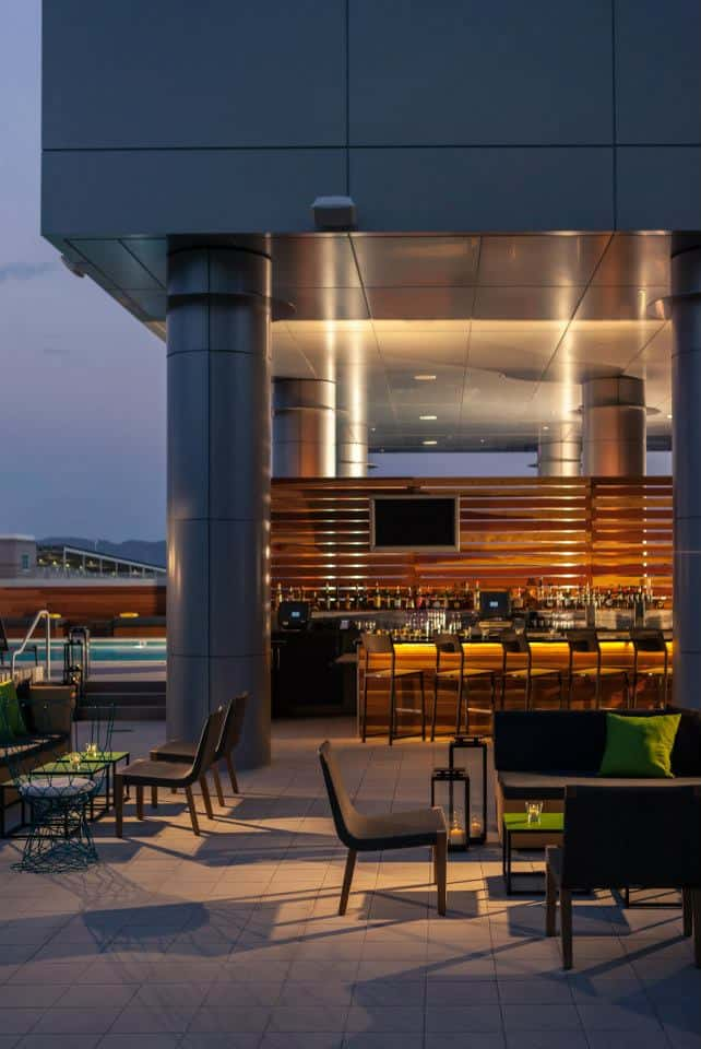 Paysage urbain de l'hôtel Palomar Phoenix