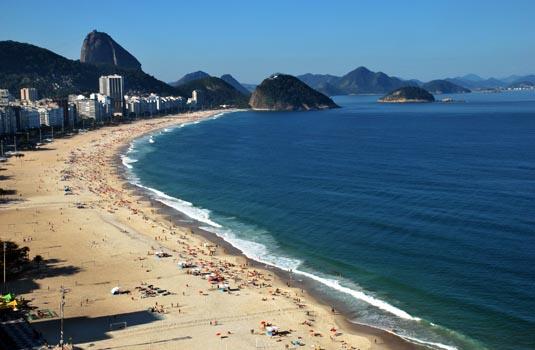 Copacabana Bolsa Beach