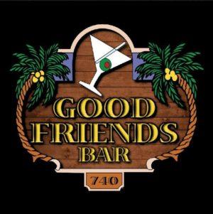 Bar med gode venner
