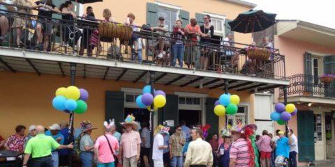 Café Lafitte in der Exil-Bar New Orleans Louisiana