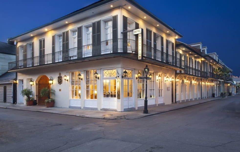 Chateau Hotel New Orleans Louisiana