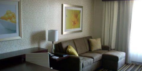 佛罗里达州杰克逊维尔希尔顿合博套房酒店
