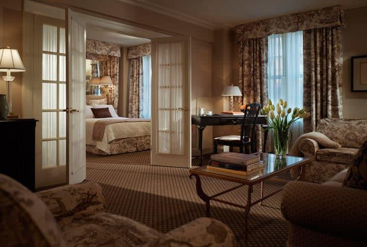 L'hôtel Eliot