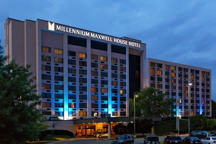 Millennium Maxwell House Hotel Nashville Tennessee Gay-Friendly Nashville Accommodations