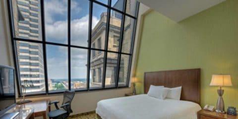 Hôtel Hilton Garden Inn Suites à Indianapolis Downtown Indiana