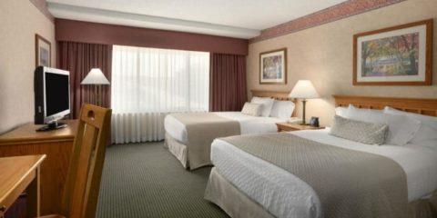 奧馬哈內布拉斯加州市區老市場希爾頓合博套房酒店
