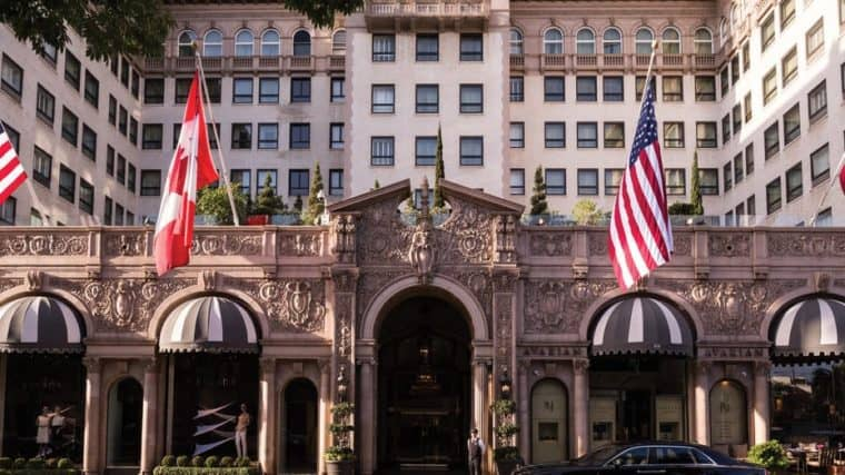Beverly Wilshire Hotel di Los Angeles in California