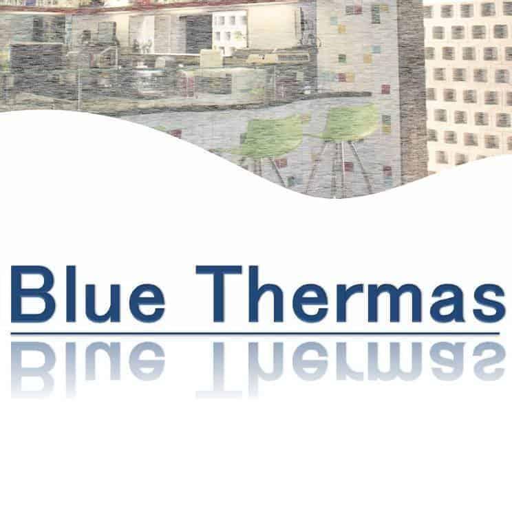 Blå termas