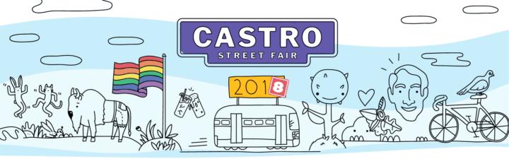 Castro Street Fair 2018