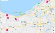 Cleveland kaart