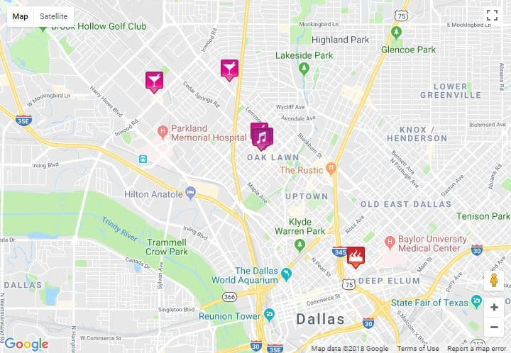 Map Of Texas Medical Center.Baylor Medical Center Dallas Map