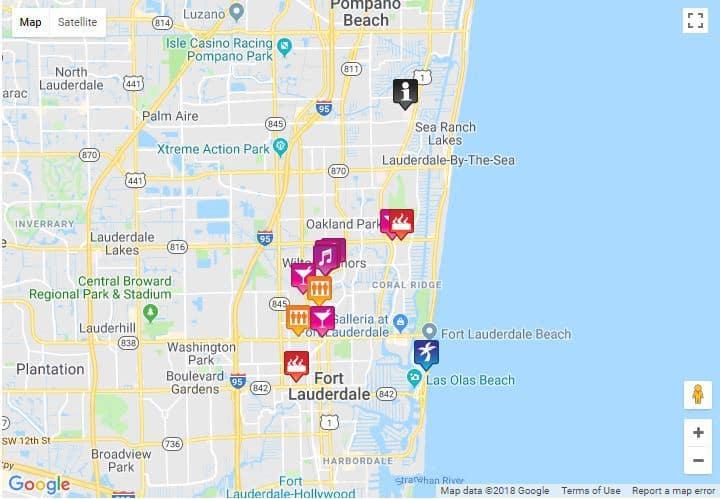 Gay bar map fort lauderdale