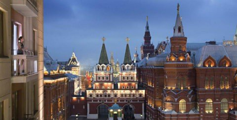 فندق فور سيزونز موسكو