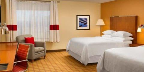 佛罗里达杰克逊维尔贝米亚多斯喜来登酒店四点