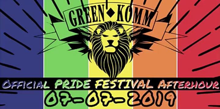 GREEN KOMM – Official PRIDE Festival Afterhour