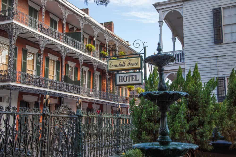 The Cornstalk Hotel New Orleans Louisiana Gay-Friendly New Orleans Hotel