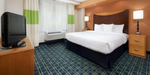 Fairfield Inn and Suites Hotel Indianapolis Indiana