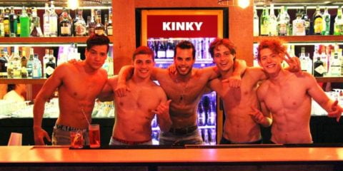 Kinky Bar Cidade do México - bar gay