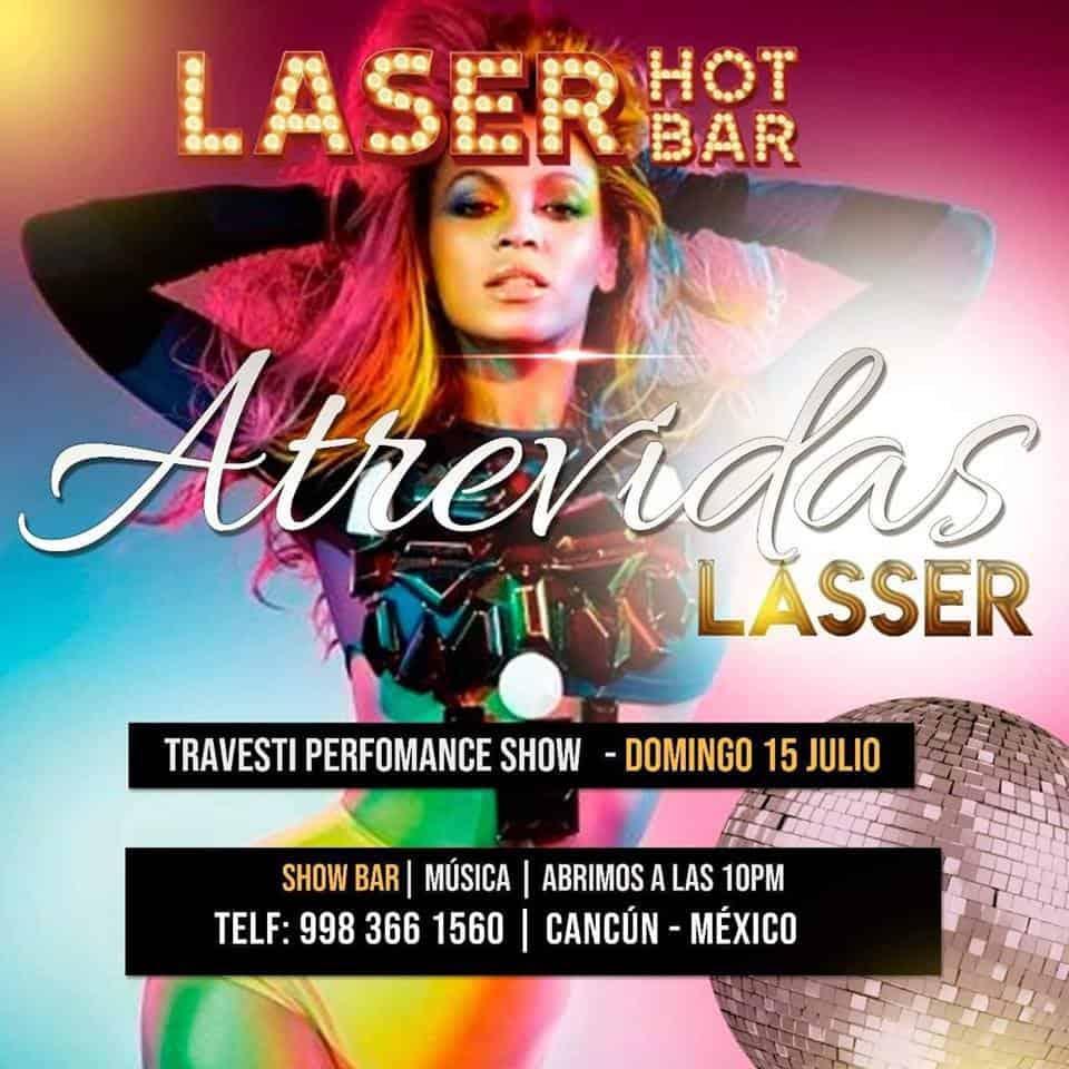 Barra calda laser