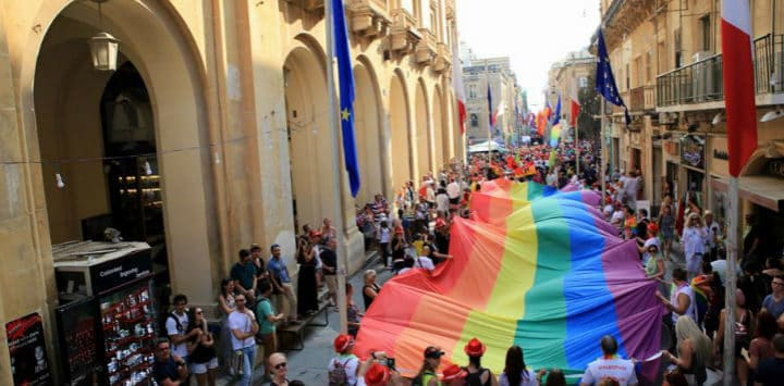 Gay Pride in Malta
