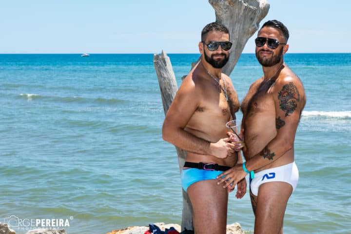 Gay beach party pics