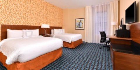 纽约奥尔巴尼万豪费尔菲尔德套房酒店