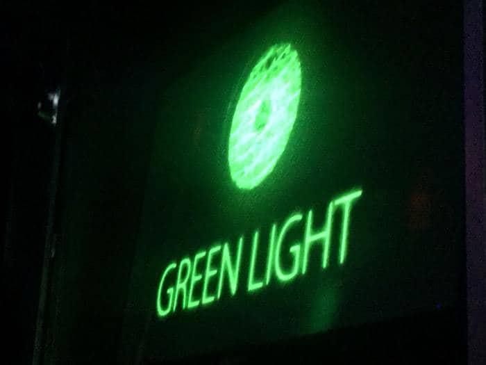 الضوء الأخضر