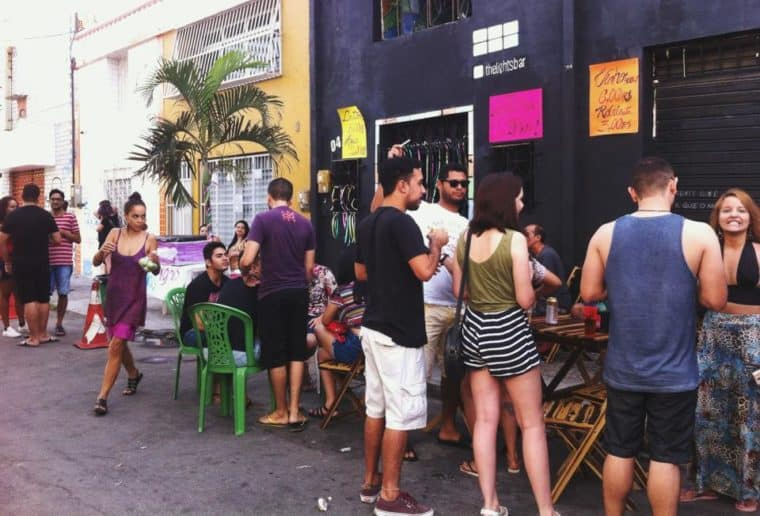 Gaybars in Fortaleza City