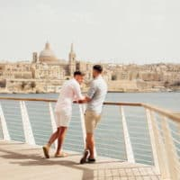 Gay couple à Malte