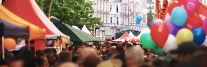 Berlim lésbicas e Gay Festival da cidade 2020