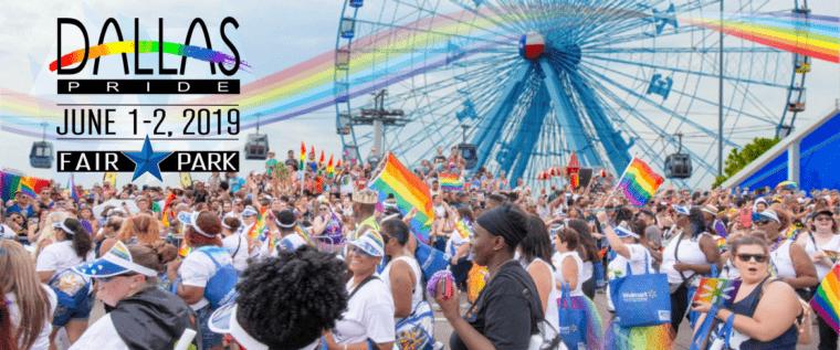 Dallas Pride Miller Light Music Festival στο Fair Park / Alan Ross Texas Freedom Parade