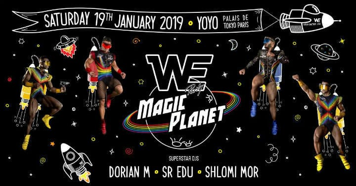 WE Party 'Magic Planet'