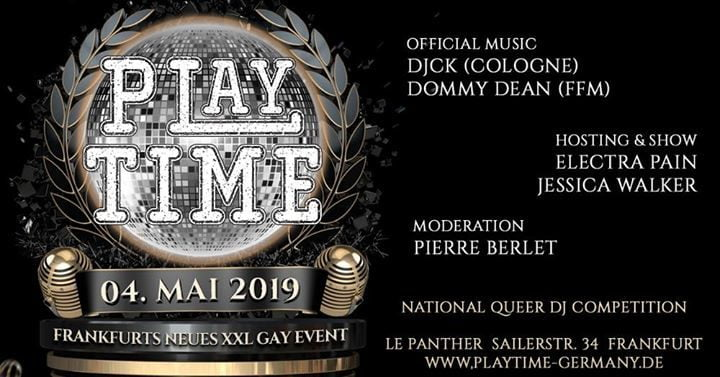 PlayTime – Queer Party & DJ Competition