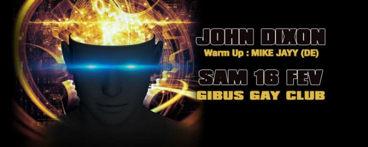 John Dixon at Gibus Club