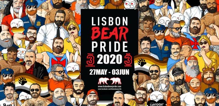 Lisbonne fierté d'ours 2021