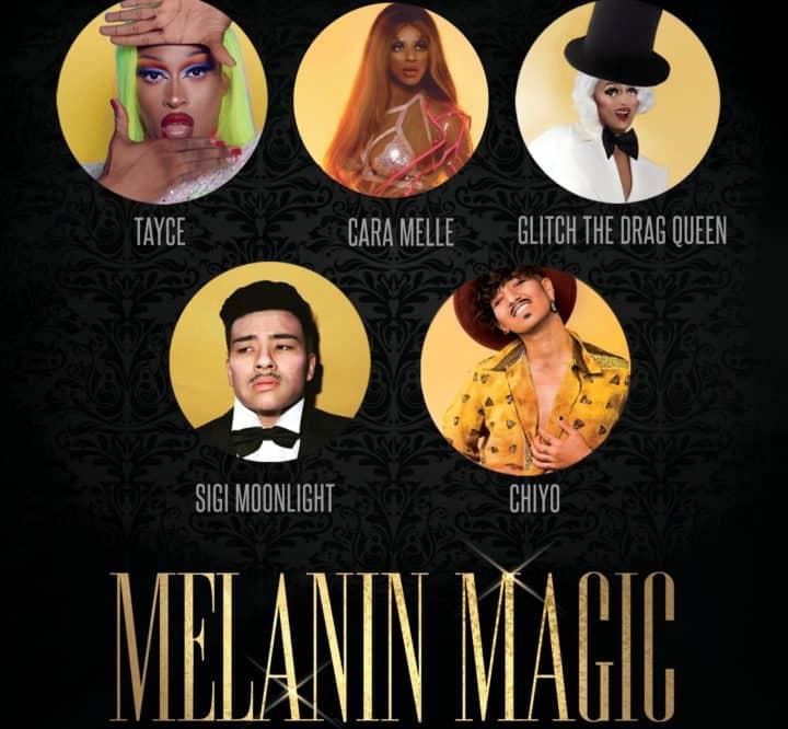 The UK's Finest Drag Artists of Colour: Melanin Magic