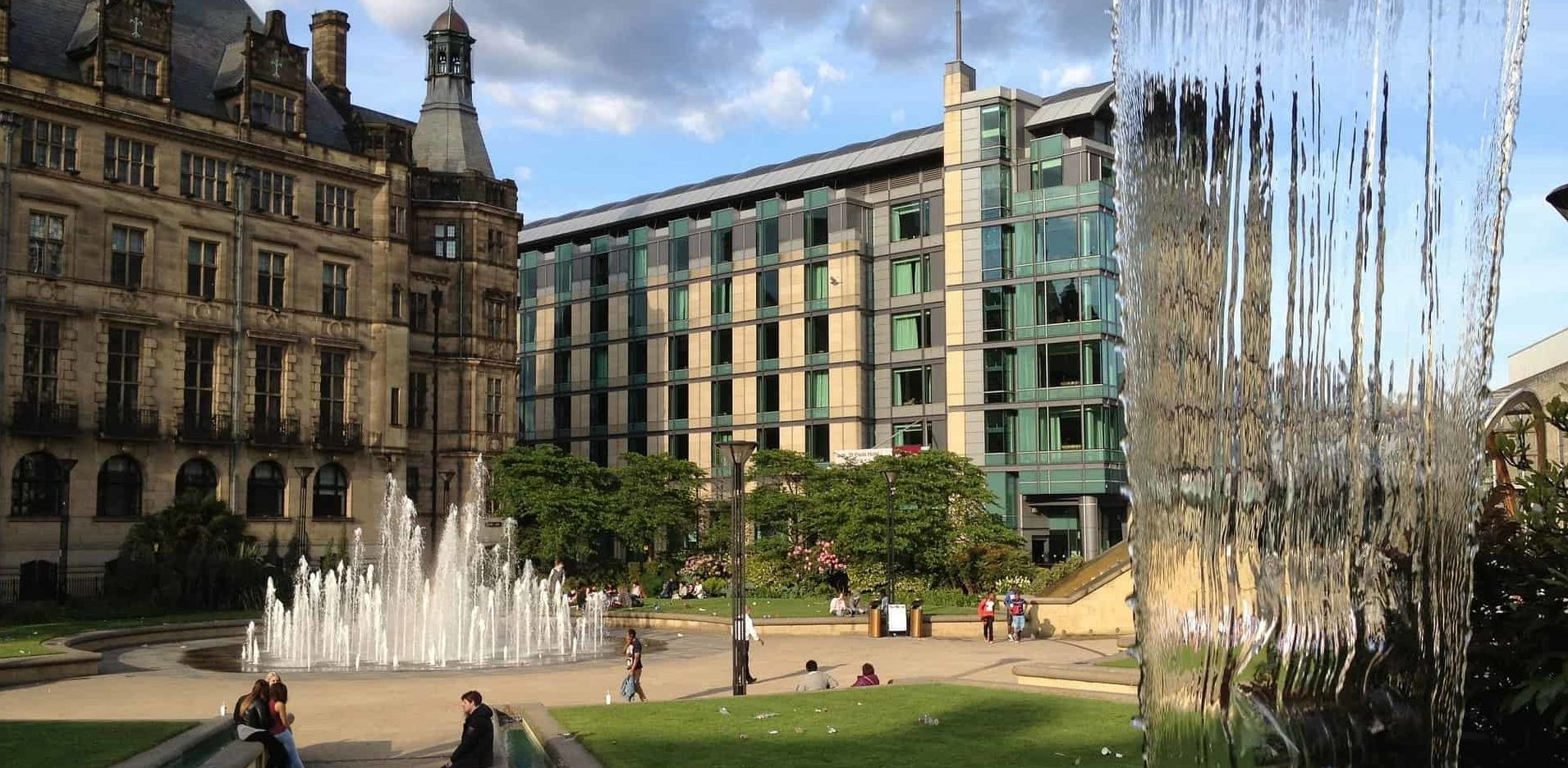 Gay Sheffield-barer, saunaer og hoteller