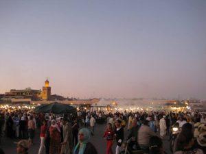 Aller à marrakech