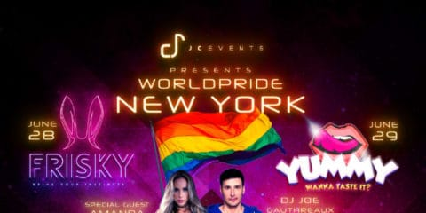 FRISKY AND YUMMY / WORLD PRIDE NYC