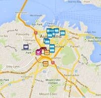 Auckland gay map