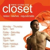 Closet – reported CLOSED