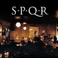 Café et bar SPQR