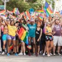 La lesbienne, GayCommunautaire bisexuel et transgenre