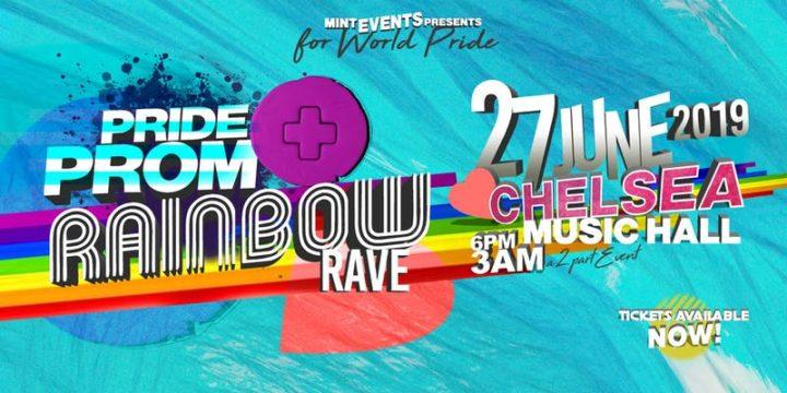 Pride Prom + Rainbow Rave