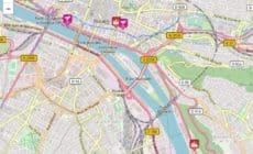 Rouen Gay Map