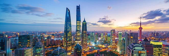 Pertama kali di Shanghai?
